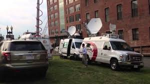 Satellite Trucks Poised For Blackhawks Bruins Game Six - YouTube Pmtv Sallite Uplink Trucks For Broadcast Live Streaming Trucks At The Coverage Of Timothy Mcveighs Exec Flickr Side Loader New Way The Best To Transmit Data In Really Wired 3d Rendering On Road With Path Traced By Stock Espn Gameday Truck Was Parked Nearby 2012 Us Presidential Primary Covering Coverage Tv News Broadcast Live With Antenna And Sallite Tv Truck Parabolic Frm N24 Channel Media Descend On Jpl Nasas Mars Exploration Program Rear View Of White Television Multiple