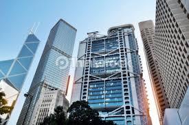 siege hsbc bank headquarters in hong kong stock photo thinkstock