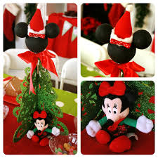7ft Pre Lit Christmas Tree Asda by Awesome Picture Of Christmas Decoration Using Mickey Mouse