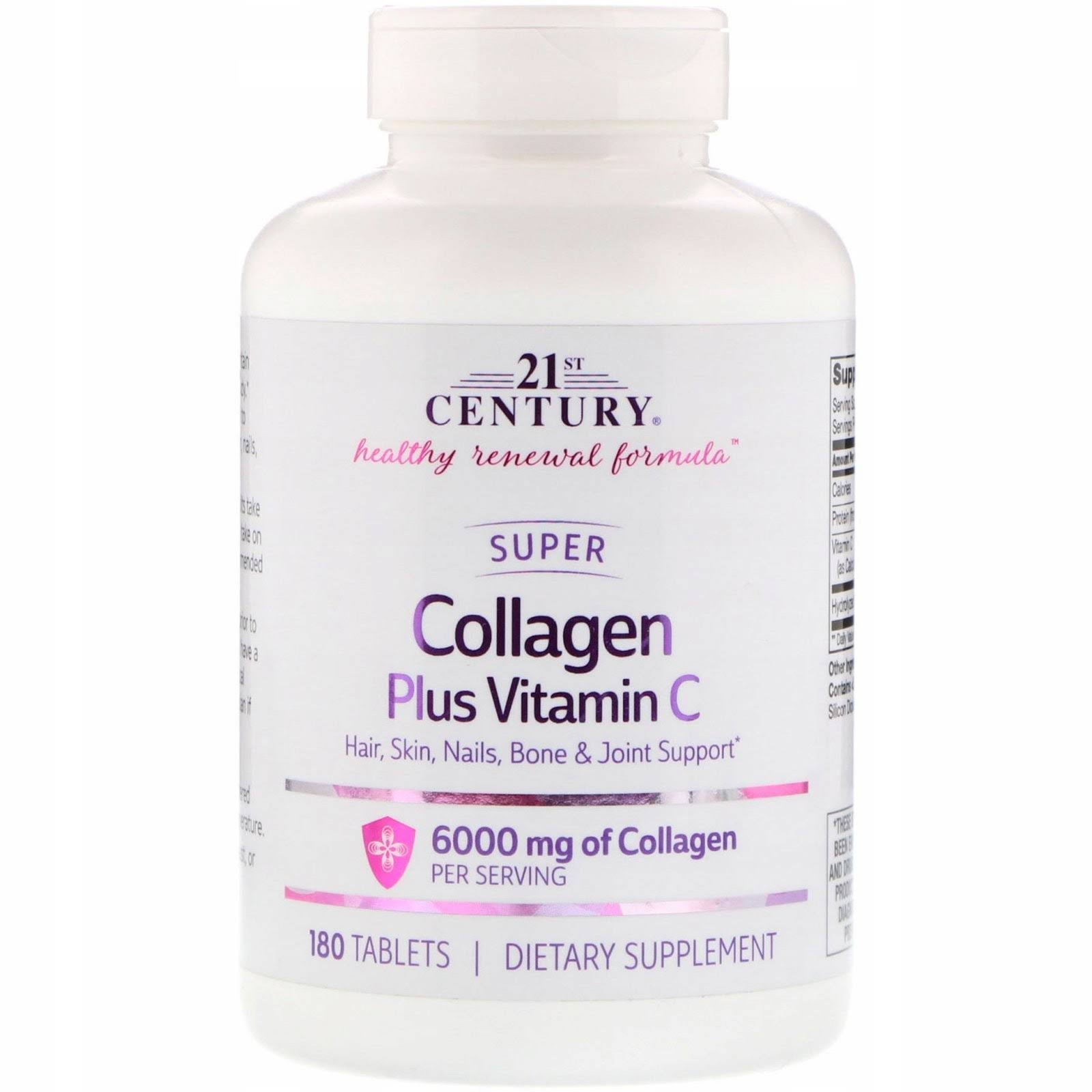 21st Century Super Collagen Plus Vitamin C 180 Tabs