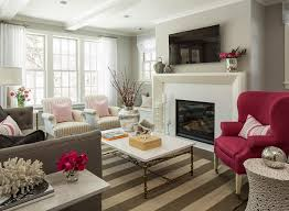 Living Room With Fireplace And Bay Window by Living Room Home Inspiration Sources
