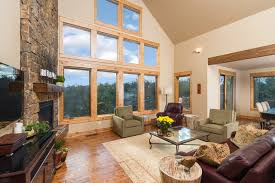 Brasada Ranch Home Design 2 Story With Open Loft Rustic Living Room