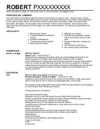 Furniture Installer Resume 49 images maintenance worker