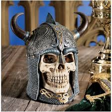 100 Gary Chang Details About Ancient Authentic Replica Celtic Skull Warrior Helmet Statue By
