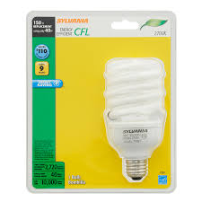 shop sylvania 150 w equivalent soft white a21 cfl light fixture
