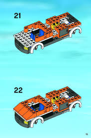 LEGO Tow Truck Instructions 7638, City
