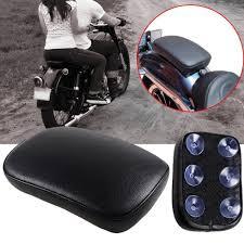 100 Harley Davidson Lounge Chair 6 Suction Cup Rectangular Pillion Passenger Pad Seat Fit