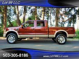 2008 Ford F-350 KING RANCH Lariat 4X4 POWERSTROKE DIESEL F350 For ...