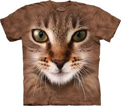 cat t shirts striped cat t shirt clothingmonster