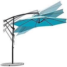 Ace Hardware Offset Patio Umbrella by Amazon Com Ace Evert Offset Umbrella 8074 10 Ft Polyester