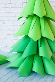 Martha Stewart 75 Foot Christmas Trees by Giant Ombre Paper Cone Christmas Trees A Diy Tutorial And How To