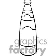 drinking clipart black and white