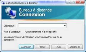 accéder à un ordinateur grâce au bureau à distance