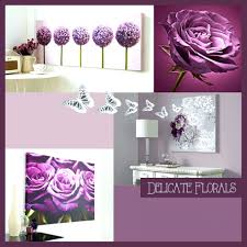 Purple Wall Art For Bathroom Bedroom Stickers Decor Ideas Designs A