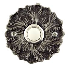 Decorative Doorbell Chime Covers by Rosette Decorative Doorbell Button Cover With Lighted Button Free