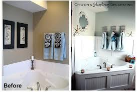 how to frame your bathroom mirrors beach inspired ideas themed diy