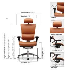Extended Height Office Chair by X Executive Task Chair 21st Century Task Seating