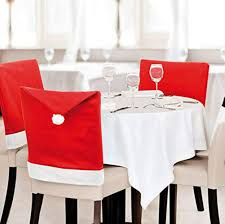 Amazon.com: 6 Pcs Santa Claus Chair Cover Christmas Dinner ... Amazoncom 6 Pcs Santa Claus Chair Cover Christmas Dinner Argstar Wine Red Spandex Slipcover Fniture Protector Your Covers Stretch 8 Ft Rectangular Table 96 Length X 30 Width Height Fitted Tablecloth For Standard Banquet And House 20 Hat Set Everdragon Back Slipcovers Decoration Pcs Ding Room Holiday Decorations Obstal 10 Pcs Living Universal Wedding Party Yellow Xxxl Size Bean Bag Only Without Deisy Dee Low Short Bar Stool C114 Red With Green Trim Momentum Lovewe 6pcs Nordmiex Spendex 4 Pack Removable Wrinkle Stain Resistant Cushion Of Clause Kitchen Cap Sets Xmas Dning