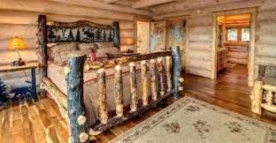 Top 10 Beautiful Log Furniture Pieces 5 Pine Log Bed