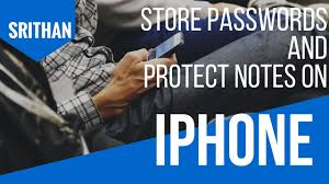 iphone tricks and secrets How to store passwords and protect notes