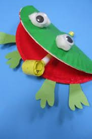 F Is For Frog Craft Activity Paper Plate Crafts