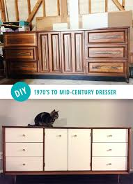 Target Mid Century Modern 6 Drawer Dresser by Diy Mid Century Modern Dresser And Then We Tried