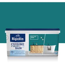 peinture cuisine et bain peinture cuisine et bain ripolin bleu pop 2 l leroy merlin