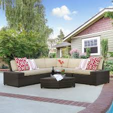 Amazon.com: Best Choice Products Patio Furniture 6-Piece Wicker ... Patio Ideas Cinder Block Diy Fniture Winsome Robust Stuck Fireplace With Comfy Apart Couch And Chairs Outdoor Cushioned 5pc Rattan Wicker Alinum Frame 78 The Ultimate Backyard Couch Andrew Richard Designs La Flickr Modern Sofa Sets Cozysofainfo Oasis How To Turn A Futon Into Porch Futon Pier One Loveseat Sofas Loveseats 1 Daybed Setup Your Backyard Or For The Perfect Memorial Day Best Decks Patios Gardens Sunset Italian Sofas At Momentoitalia Sofasdesigner Home Crest Decorations Favorite Weddings Of 2016 Greenhouse Picker Sisters
