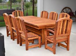 Custom Baja Dining Table Chairs Made In USA