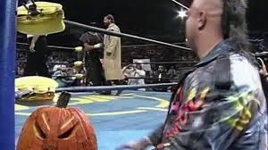 Halloween Havoc 1998 Hogan Vs Warrior by The Nasty Boys Vs Bunkhouse Buck U0026 Terry Funk Halloween Havoc