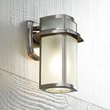 brushed steel sconces ls plus