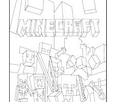 Minecraft Coloring Pages Printable Free Print Mobs Steve
