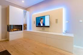 multimedia möbel der luxus klasse mit elektro kamin
