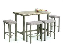 Kitchen Bar Table And Chairs With Matching Stools Small