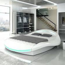 cadre design pas cher lit deux places design cadre de lit pour ado en cuir synthactique