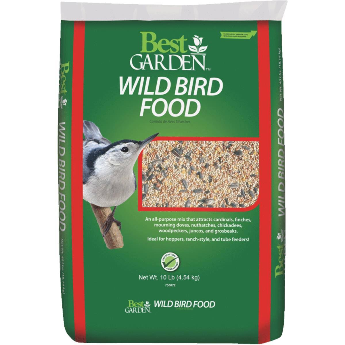 Global Harvest Foods 13587 Best Garden Wild Bird Seed