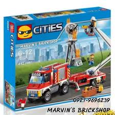For Sale City Fire Utility Truck Building Blocks Toy, Toys & Games ...