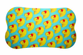 Bathtub Non Slip Decals Walmart by Amazon Com Dci Rubber Duckie Shower Tub Mat Home U0026 Kitchen
