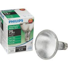 philips ecovantage par30 halogen floodlight light bulb 419549