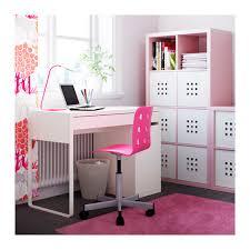 ikea bureau junior jules junior desk chair pink silver color ikea