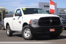 100 Single Cab Trucks New 2019 RAM 1500 Classic Tradesman 2D Standard In Yuba City