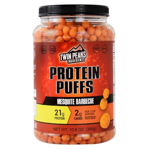 Twin Peaks Ingredients Protein Puffs Mesquite Barbecue - 10.6 oz