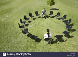 Business People Sitting In Circle Of Office Chairs In Field Stock ... Chairs Office Chair Mat Fniture For Heavy Person Computer Desk Best For Back Pain 2019 Start Standing Tall People Man Race Female And Male Business Ride In The China Senior Executive Lumbar Support Director How To Get 2 Michelle Dockery Star Products Burgundy Leather 300ec4 The Joyful Happy People Sitting Office Chairs Stock Photo When Most Look They Tend Forget Or Pay Allegheny County Pennsylvania With Royalty Free Cliparts Vectors Ergonomic Short Duty
