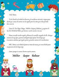 Carta De Los Reyes Magos Cartas Mágicas