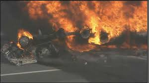 Tanker Truck Bursts Into Flames On Highway In Pennsauken | 6abc.com Investigators Looking Into Cause Of Truck Explosion While Crew Was Tanker With 9000 Gallons Gas Overturns Explodes Portland Food Explodes Kobitv Nbc5 Kotitv Nbc2 Pickup Next To Southcrest Apartments The San Diego Propane Tanker Flames On I40 Kforcom Takata Troubles Worsen As Kills Texas Woman Watch Tipped Engulf Highway In Cnn Video Fire More Than 100 People Gerianile Ohp Man Pulls Driver From Burning Fedex After Crash Us Syria Dozens Killed Fuel Truck Explosion Airstrikes Near Eric Sniders Sort Boring Blog Party Whole Road Engulfed Ethanol Erupts Following