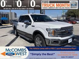 100 Ford Trucks Through The Years New 2019 F150 LARIAT Crew Cab Pickup In San Antonio 990363