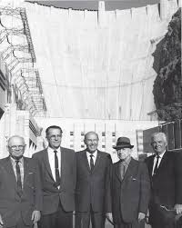 federal bureau of reclamation file bureau of reclamation officials at hoover dam jpg wikimedia