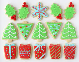 Decorated Christmas Cookies Glorious Treats