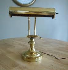 Ebay Antique Kerosene Lamps by Antique Br Lamps Ethan Allen Sullivan Br Desk Lamp Polyvore Tall