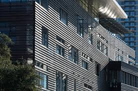 100 Austin Cladding Perforated Aluminum Gives An Edge To The Central